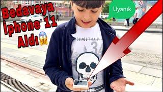 Bedava'ya İphone 11 Aldı! | Bozuk İphone Bana Kaldı!!