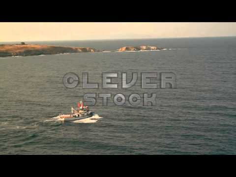 Fishing Boat Passing HD - Stock Footage
