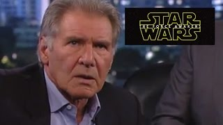 Harrison Ford's Reaction To Star Wars Teaser #2 - Celebrity Reactions