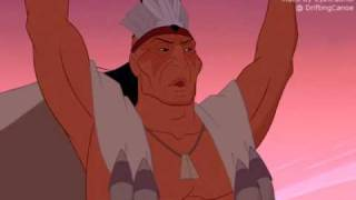 FANDUB READY: Pocahontas Saves John Smith (Powhatan voice removed)