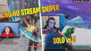 KEKKOBOMBA URLA STREAM SNIPER | REKINS 5 KILL IN POCHI SECONDI Fortnite clip Twitch Italia