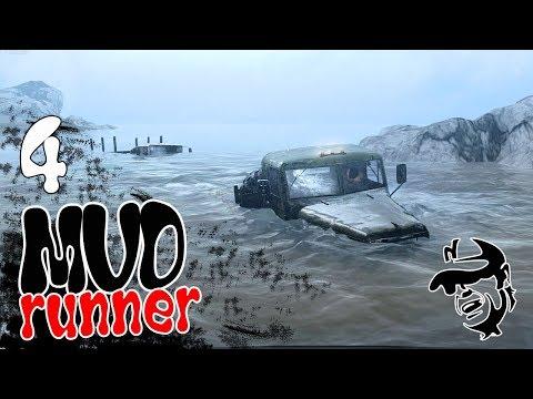 Spintires  MudRunner ч4 - На Кразе на рыбалку Здесь раки не водятся!