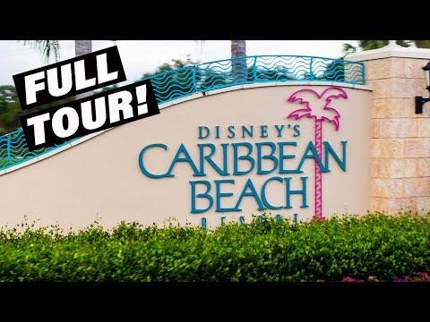 Disney's Caribbean Beach Resort - FULL TOUR!