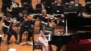 Aika Dan (段あいか 9 years old) plays Chopin piano concerto No. 2 ...