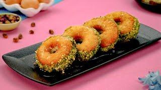 Pistachio Doughnuts Recipe By SooperChef