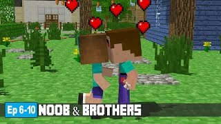 Download Noob & Brothers | Ep 6 - 10 ( Minecraft Animation ) Mp3 and Videos