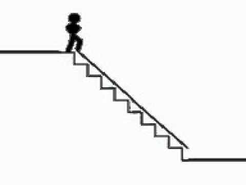 Como bajar una escalera youtube for Como cubrir una escalera