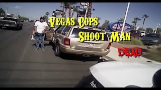 las vegas metropolitan police department release video of fatal police shooting of armed man