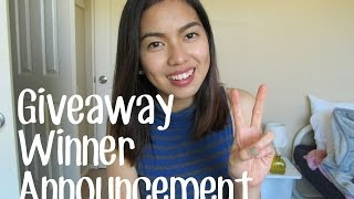 Holiday Giveaway Winner Announcement! :) Thumbnail