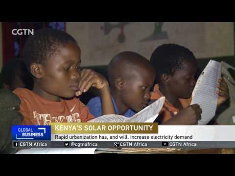 American D. light solar maker enters African market