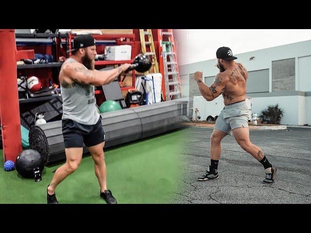 MMA Follow Along Kettlebell Workout for Punching Power & Endurance
