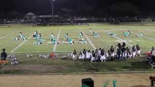 Eagle Rock Drill vs Marshall 2nd Routine 10-16-2015