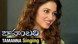Tamanna Sings Pacha Bottesina Song | Baahubali | Prabhas | Rana | Anushka | SS Rajamouli