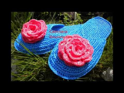 Вязанные ковры из шнура Вяжем крючком вместе в on line