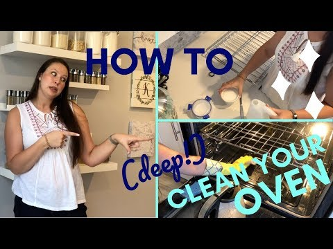 HOW TO CLEAN YOUR OVEN FAST : THE BEST WAY!