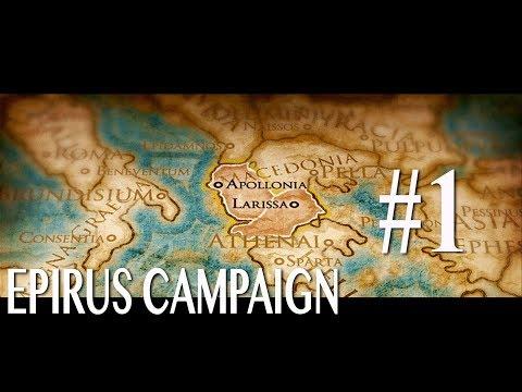 Total War: Rome 2 Epirus Campaign #1