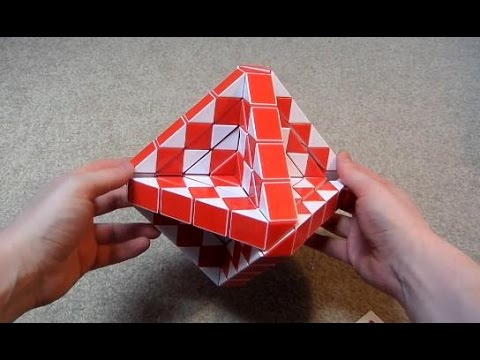 Lightake Package: World's Biggest Rubik's Snake! (Diansheng 240 piece magic snake)