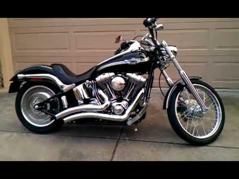 2003 Harley Softail Deuce  YouTube