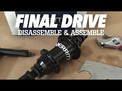 MERRITT BMX: HOW TO DISASSEMBLE, ASSEMBLE, FIX YOUR FINAL DRIVE FREECOASTER