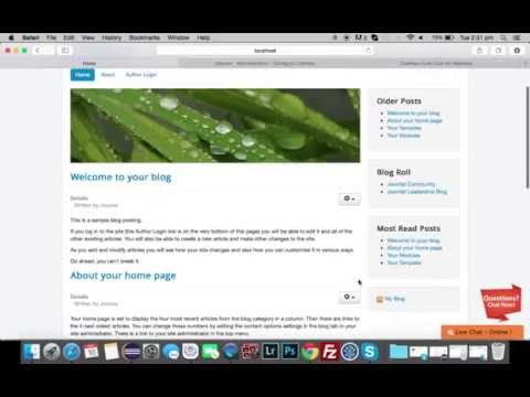 How To Add Live Chat To Joomla - ChatNox Video Tutorial