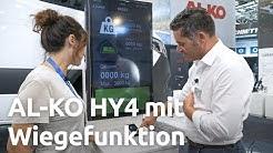 Wohnmobil wiegen mit hydraulischen Stützen: AL-KO HY4 nun mit Wiegefunktion