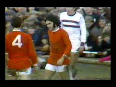 George Best scores 6 goals in a match Northampton Town vs Manchester Utd