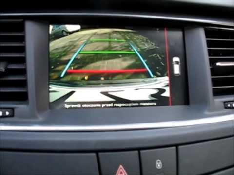 Kamera Cofania Nowy Peugeot 508 2014 Rear Cam New Peugeot