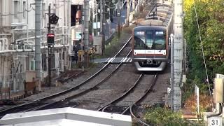 東急東横線 自由が丘駅 [列車が次々発着!]