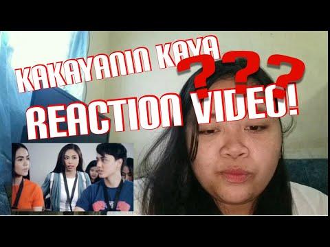 KAKAYANIN KAYA BY MAYMAY (REACTION VIDEO)