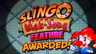 Slingo Mah-Jong Slot - $6.75 Max Bet- NICE WIN Bonus!