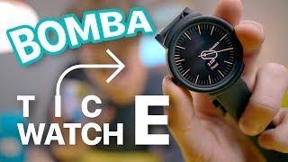 TicWatch E, SMARTWATCH BOMBA con Wear OS by GOOGLE (ITA)