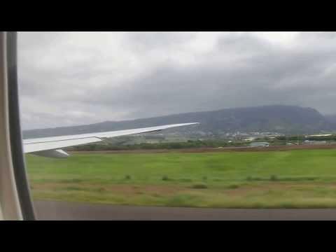 B777-3Q8ER Air Austral Take off in Reunion Island the 22/12/13