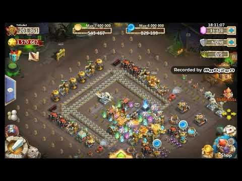 Castle Clash: Plant For Prizes & Other Goodies Pt.1