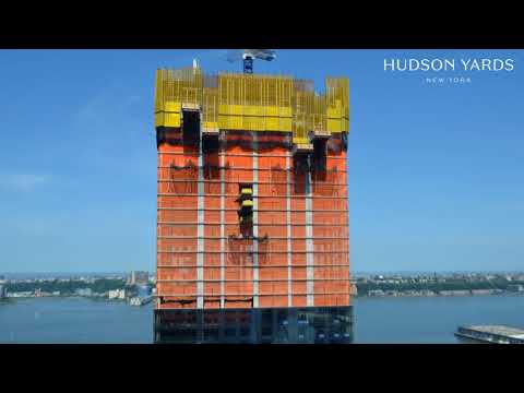 Diller Scofidio + Renfro and Rockwell Group's 15 Hudson Yards Tops Out