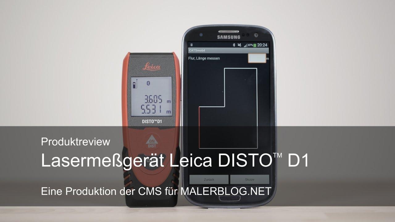 Leica Disto D2 Laser Entfernungsmesser Preisvergleich : Review aufmaß im raum mit bluetooth laser leica disto d und