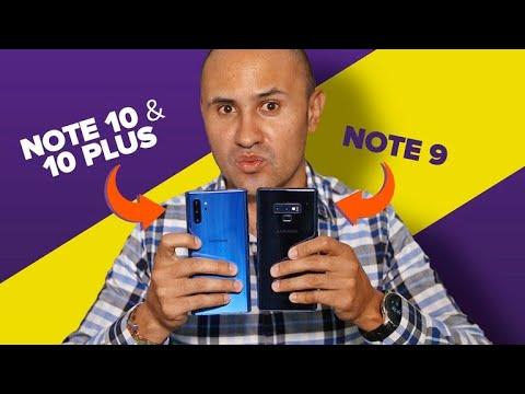 Galaxy Note 10 y Galaxy Note 9: ¿cuáles son las DIFERENCIAS?