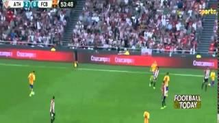 athletic bilbao 4 barcelona 0 rian goals highlights 14 08 2015 hd