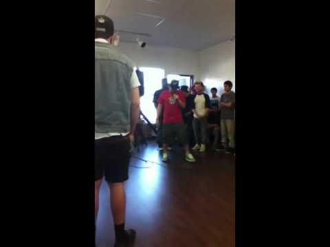 Rapping at Basement818