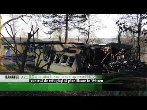 Germania: incendiere suspectată lângă centrul de  refugiați și planificare în Witten