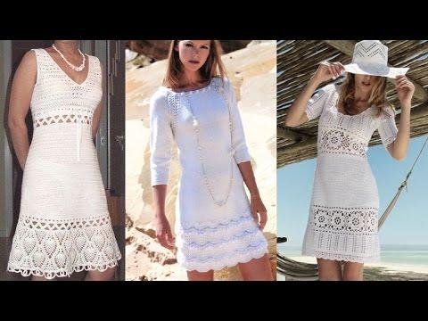DIY: Ажурное платье спицами. Расчет петель и начало вязания. Часть 1.