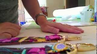 Holiday in London Duffle Bag Sew-Along Part Two
