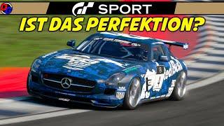 PERFEKTES RENNEN? | Gran Turismo Sport | MERCEDES SLS AMG @ Dragon Trail | GT Sport Gameplay German