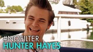 Hunter Hayes Tries Out A New Instrument