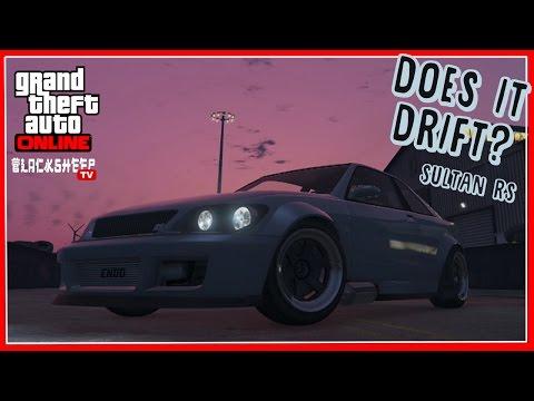 Does It Drift? - Sultan RS - Episode 9 - GTA Online