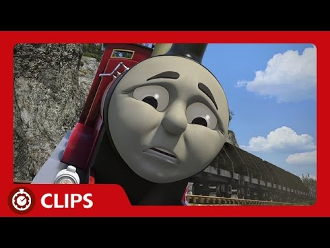 James Gets Out of Control Going Downhill | Start Your Engines! | Thomas & Friends
