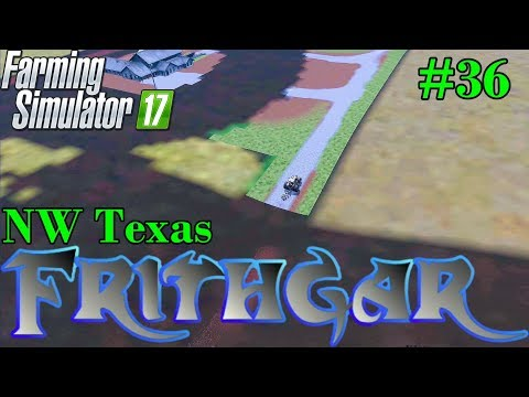 Let's Play Farming Simulator 2017, North West Texas #36: A Super Mega Hyper Plough!