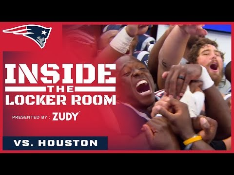 Inside the Locker Room: Patriots celebrate Slater's birthday and first win of season vs. Texans