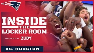 Inside the Locker Room: Patriots celebrate Slater's birthday and first win of season vs. Texans