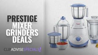 Prestige Mixer Grinders On Amazon Great India Sale [2018]: Prestige Iris 750-Watt 4 Jar Mixer