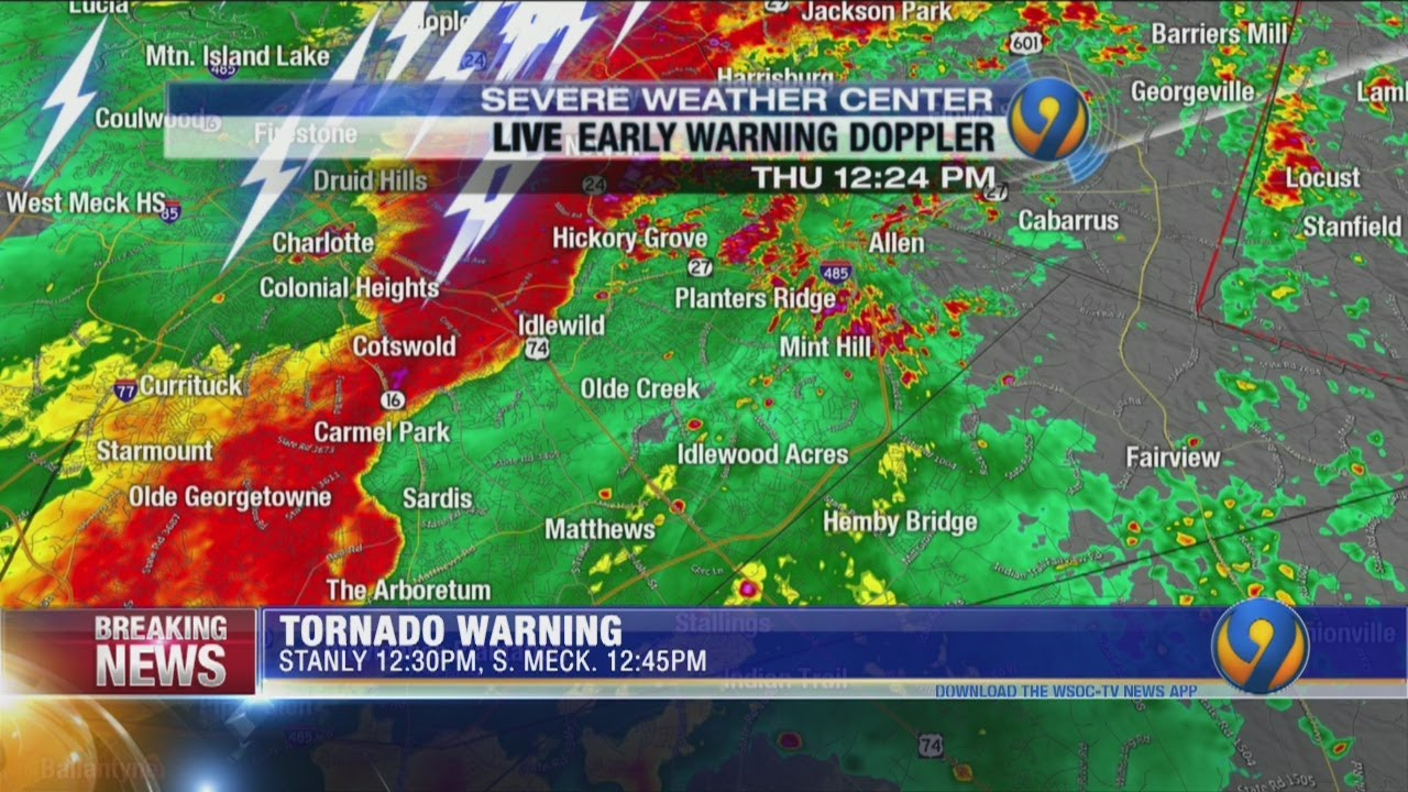 BREAKING: Widespread Damage After Tornado Warning Issued for ...